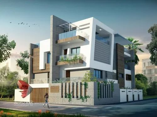 3d House Plans And Elevations 3d Elevation Service Pyramid Design Construction Indore Id 20648266230