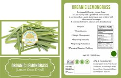 Seekanpalli Organic Lemongrass (Lemon Grass Dried) 100 G