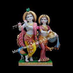 5 Feet Radha Krishna Statue
