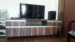 Wooden TV Unit for Home, Hotel