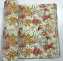 Indian Cotton Printed Handmade Kantha Quilt