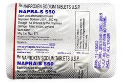 NAPRA S 550 MG TABLET