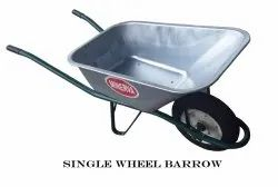 Single Wheel Barrow-GI Sheet