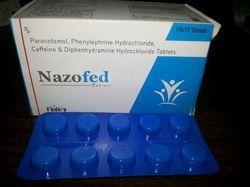 Paracetamol Phenylephrine Caffeine Diphenhydramine