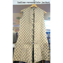Reversible Jackets Sleeveless Designer Ladies Reversible Jacket
