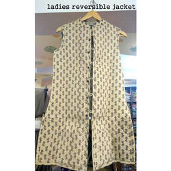 Reversible Jackets Sleeveless Designer Ladies Reversible Jacket