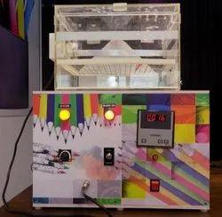 Automatic Single IKPL Velvet Pencil Machine, Production Capacity: 400-500 Per Hour, 4