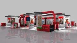 Wooden 3D Stall Design Service