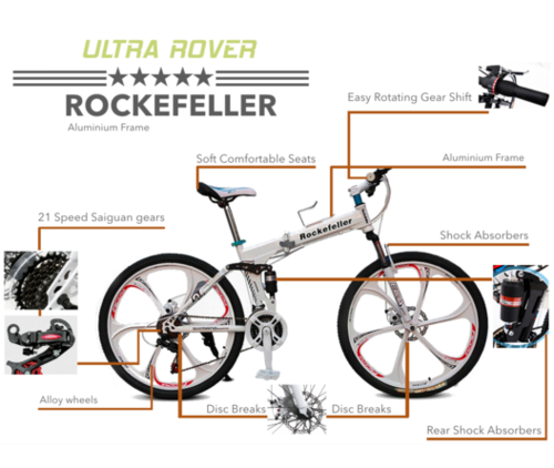 GoGoA1 Rockefeller Foldable Aluminium Frame Bicycles at Rs 15999 ...