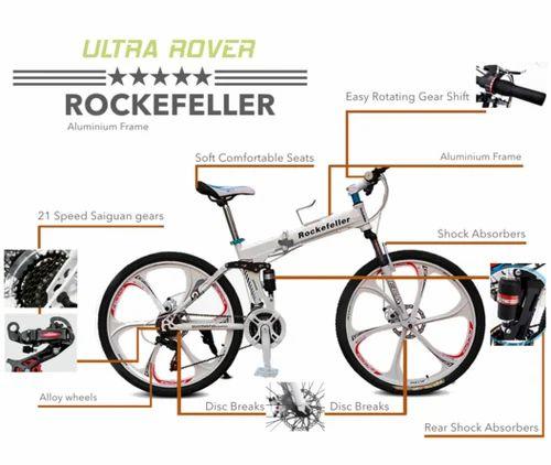 Gogoa1 Rockefeller Foldable Aluminium Frame Bicycles at Rs 15999 ...