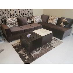 Wooden Modular Sofa Set