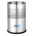 Stainless Steel Half Perforated Dustbin