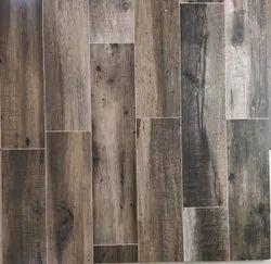 Wooden pattern floor tiles