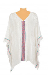 Beachwear Kaftans With Embroidery