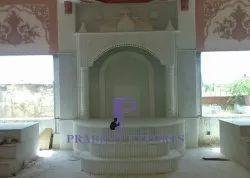 Indian Makrana Marble Temple
