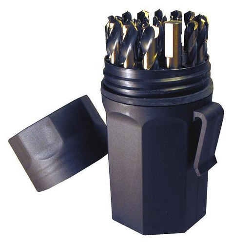 Plastic Tool Boxes for Drill Bits and Drill Bit Sets