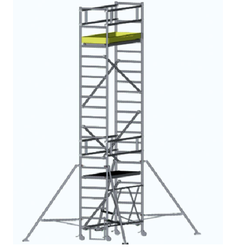 Mobile Scaffold Towers - Mobile Scaffold Tower with Chassis Beam