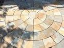 Double Color Sandstone Paving