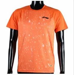 KD Li-Ning Men's Round Neck T-Shirt - Neon Orange