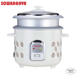 Sowbaghya Electric Rice Cooker Annam Plus 1.8Ltrs Rice Cooker
