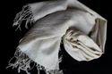 Organic Cotton Handmade Undyed Scarf