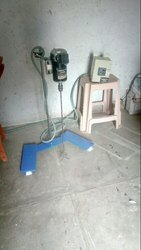 Single Phase Geared Stirrer, Capacity: 100Ltr