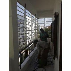 Designer Balcony Grill ब लकन ग र ल स Sree Kanaka