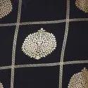 Dark Blue Poly Crepe Kurta(JNE3428)