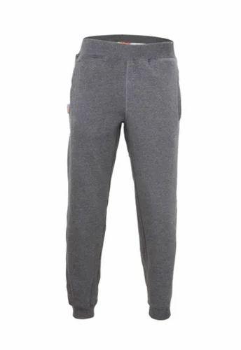 72b63dc8003550 Dark Grey Melange Mens Knitted Joggers Pant, जॉगर पतलून ...