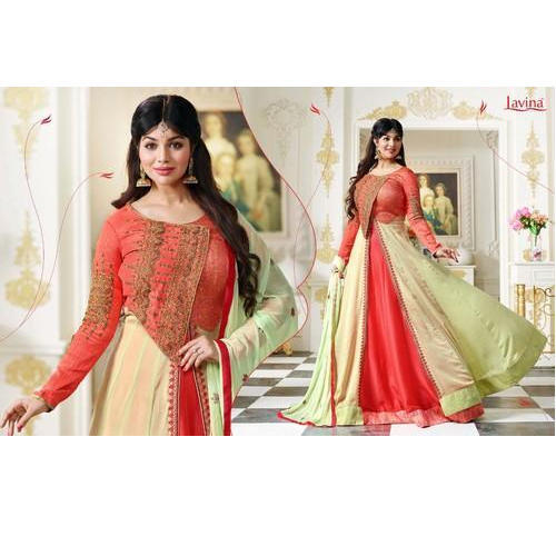 Lavina Ladies Traditional Gown, Rs 1899 /piece, Lavina Creations Pvt ...
