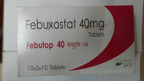 Febuxostat Tablets 40 Mg