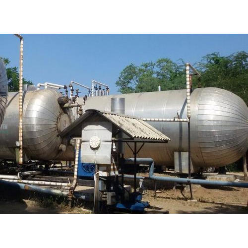 Liquid Co2 Storage-10000 Ltrs, Capacity: 10K Ltrs
