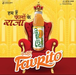 FAVRTO Plastic Favrito Mango Juice, Packaging Size: 160 ml, Rajkot