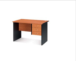 Nil Kamal Milford Office Table Dual Tone