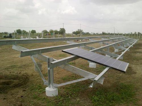 Aluminum Solar Panel Mounting Structure Surat Exim