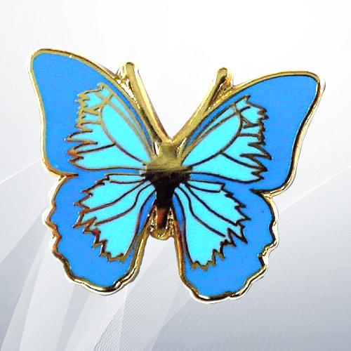 249c470ae1f9d Butterfly Lapel Pin, Rs 70 /piece, Memento Creations   ID: 19464337933