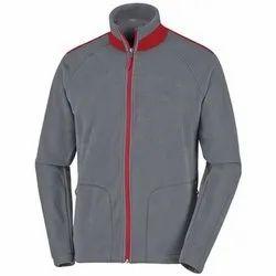 Full Sleeve Mens Fleece Zip Jacket