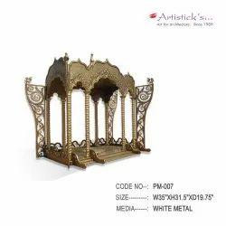 metal pooja mandir