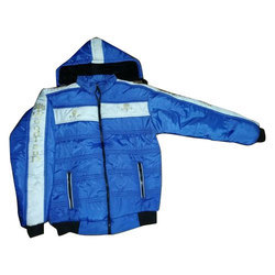 Avishkar Garments Blue mens polyester winter jacket