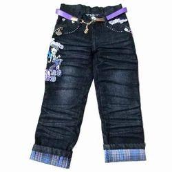 Blue Kids Designer Denim Jeans