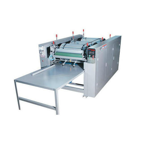 Mild Steel, Stainless Steel U Cut Bag Printing Machine