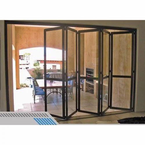 Stainless Steel Folding Sliding Door