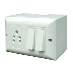 Tradison Plastic Modular Electric Switch Board