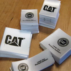 Satin Printed Labels
