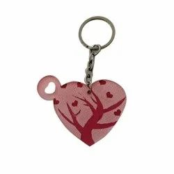 Printed Acrylic Sublimation Key Chain