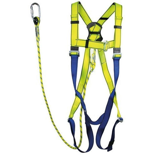 Polypropylene Webbing And Stainless Steel Full Body Safety