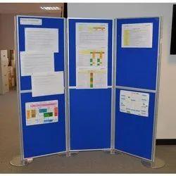 Blue Exhibition Display Board