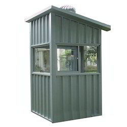 Fabricated Portable Security Cabin