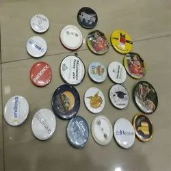 44mm Material Round Badges
