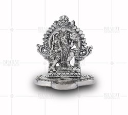Silver Plated Hanuman Statue